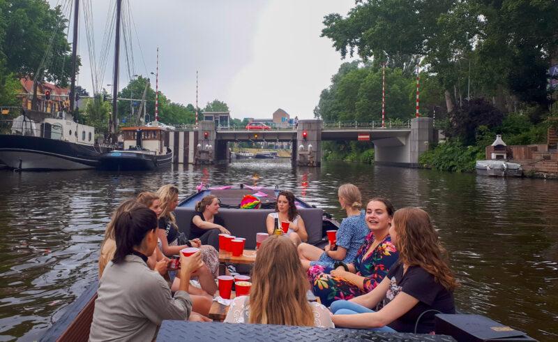 Grote sloep huren Groningen