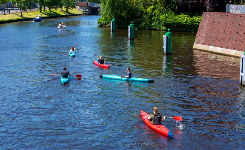 Kano varen Groningen