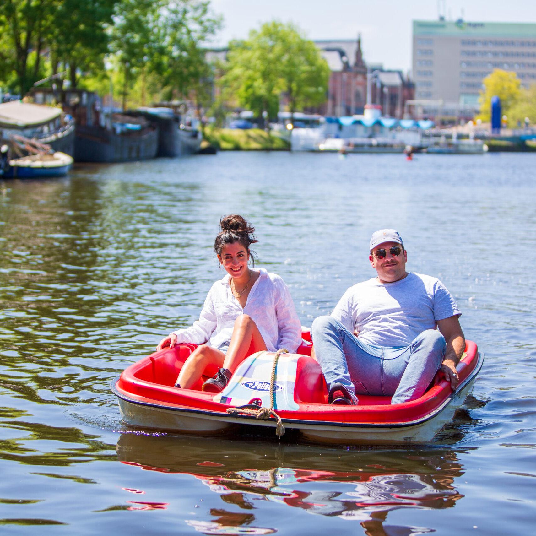 Waterfiets huren Groningen