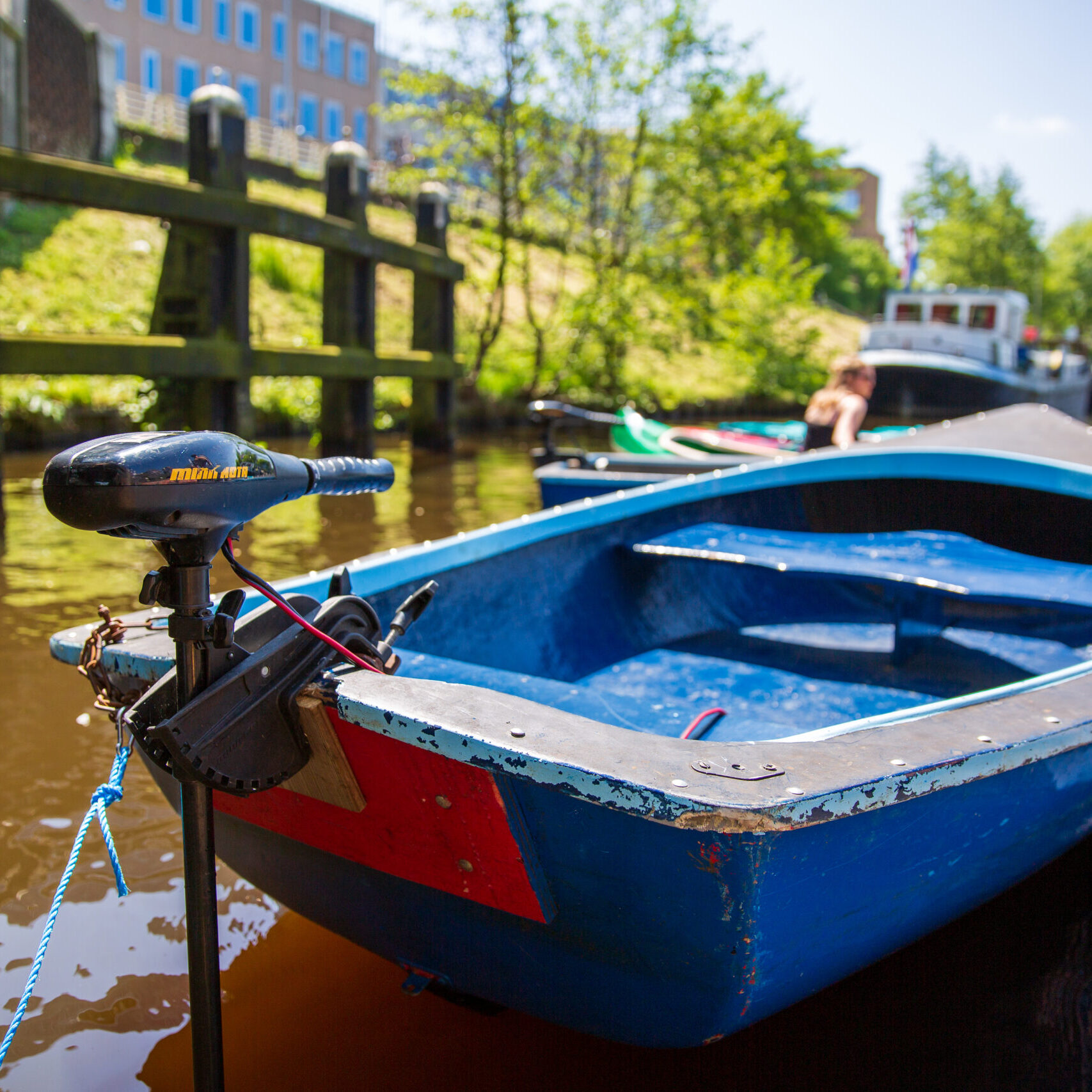 Fluisterboot huren Groningen